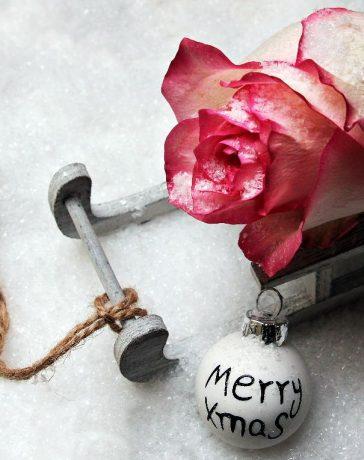 kerstkaart in stijl versturen