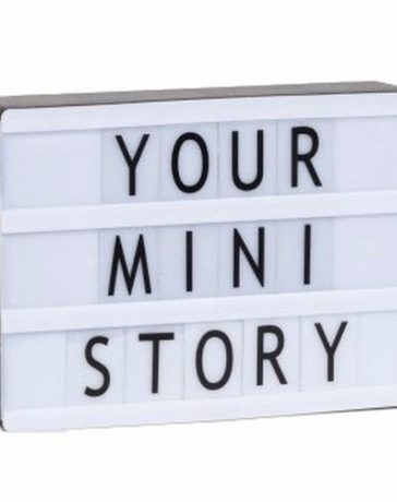 Lightbox your mini story