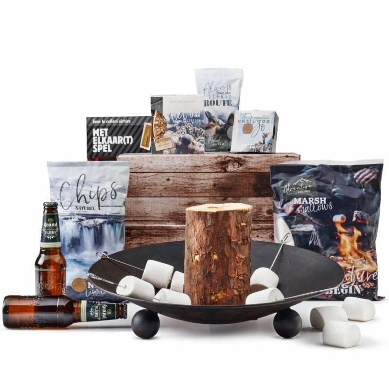 Winterbarbecue kerstpakket