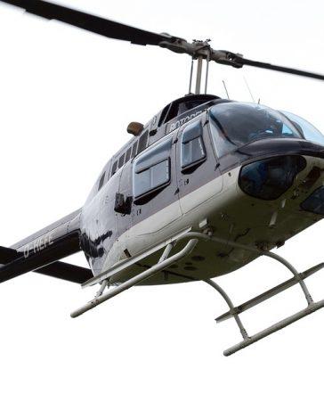 helikopter naar werk
