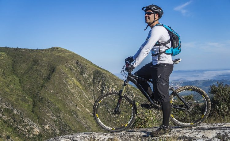 Mountainbiken in de Franse Pyreneeën