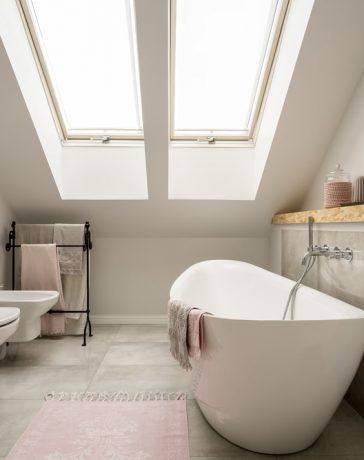 Inspiratie voor de kleine badkamer