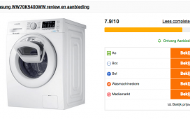 Problemen en ervaringen met Samsung wasmachines