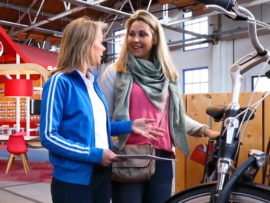 Elektrische fiets in de winkel kopen