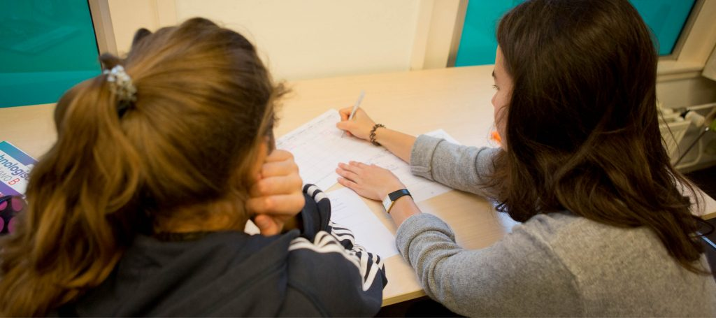 Bijles Engels of les in de klas