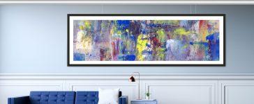 Zo verwerk je een groot schilderij in jouw interieur!