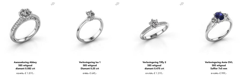 keuzes diamanten ring