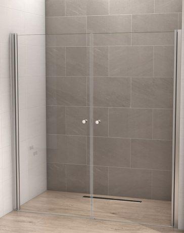 Unieke douchewanden en douchedeuren