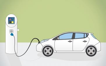 In de toekomst rijdt meer dan 35% van de auto's elektrisch